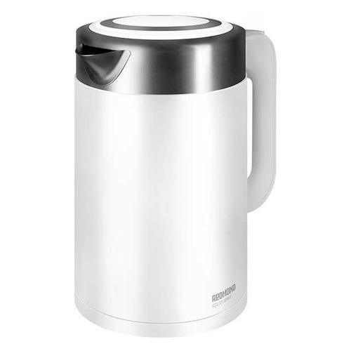 Чайник электрический REDMOND RK-M129, 2150Вт, белый цена и фото