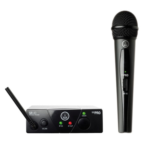 Радиосистема AKG WMS40 Mini Vocal Set Band US45A беспровод. черный akg wms40 mini vocal set band us45c