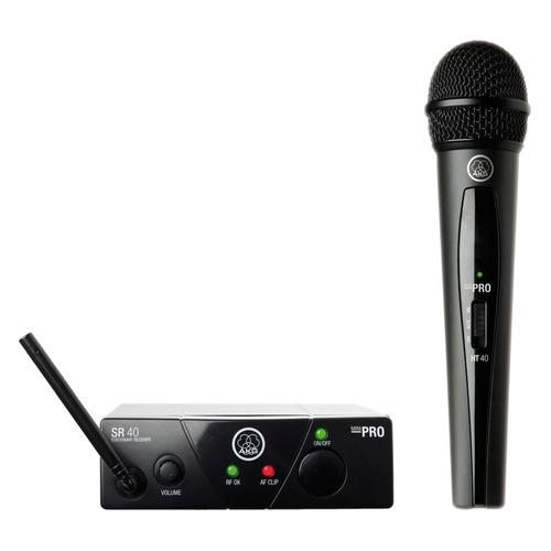 цена на Радиосистема AKG WMS40 Mini Vocal Set BD US45C беспровод. черный