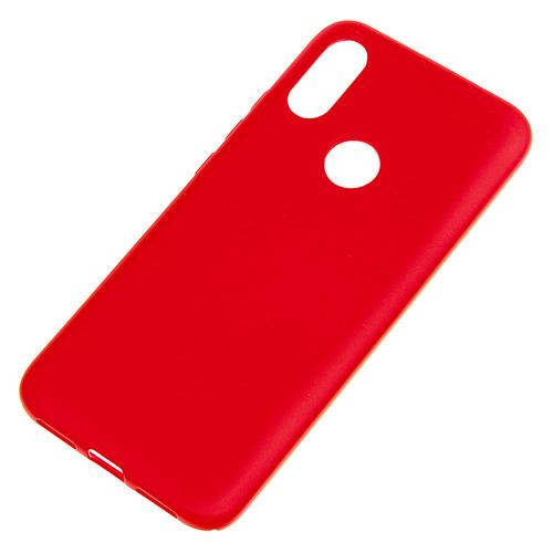 Чехол (клип-кейс) Borasco Hard Case, для Xiaomi Redmi 7, красный [36787], NONAME  - купить со скидкой