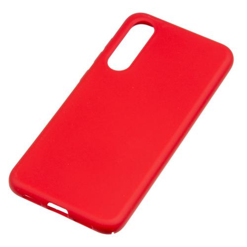 Чехол (клип-кейс) BORASCO Hard Case, для Xiaomi Mi 9 SE, красный [36818] защитный чехол с микрофиброй для mi 9 lite borasco soft touch синий