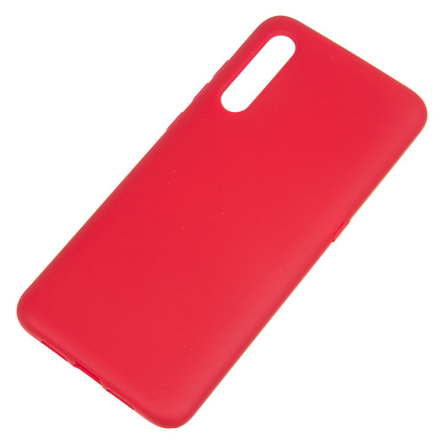 Чехол (клип-кейс) BORASCO Hard Case, для Xiaomi Mi 9, красный [36784] защитный чехол с микрофиброй для mi 9 lite borasco soft touch синий