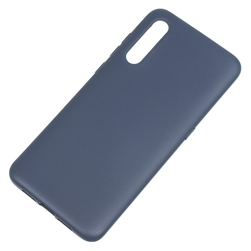 Чехол (клип-кейс) BORASCO Hard Case, для Xiaomi Mi 9, синий [36785] защитный чехол с микрофиброй для mi 9 lite borasco soft touch синий