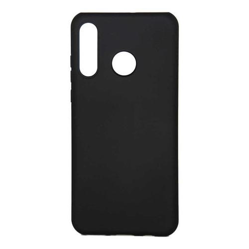 Чехол (клип-кейс) Borasco Hard Case, для Huawei P30 Lite, черный [36747]