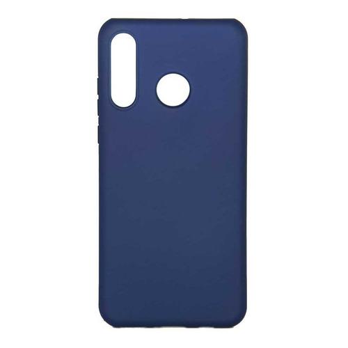 Чехол (клип-кейс) Borasco Hard Case, для Huawei P30 Lite, синий [36749]