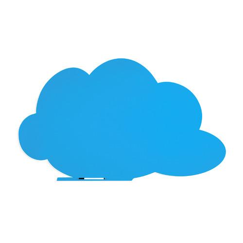 Доска магнитно-маркерная Rocada SkinColour Cloud 6450-630 магнитно-маркерная лак синий 75x115см демонстрационная доска rocada skincolour cloud 6450 230 магнитно маркерная лак 75x115см зеленый