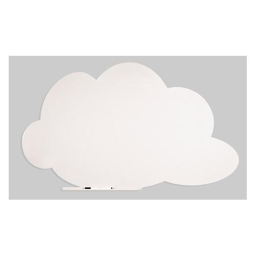 Доска магнитно-маркерная Rocada SkinColour Cloud 6450-9010 магнитно-маркерная лак белый 75x115см демонстрационная доска rocada skincolour cloud 6450 230 магнитно маркерная лак 75x115см зеленый