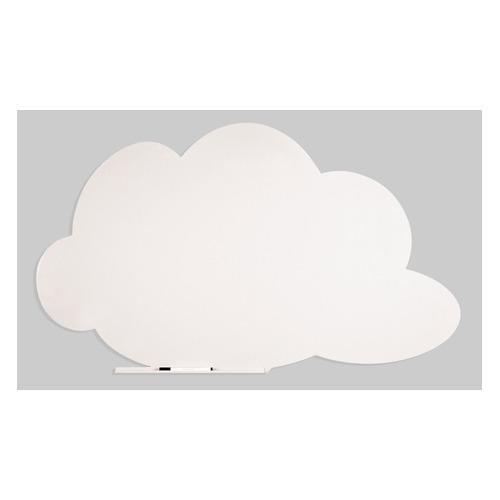 Фото - Доска магнитно-маркерная Rocada SkinColour Cloud 6451-9010 магнитно-маркерная лак белый 100x150см демонстрационная доска cactus cs gbd 120x150 uwt стекло стеклянная 120x150см ультра белый
