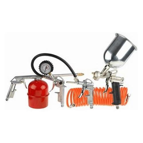 Набор пневмоинструментов STAYER 06488-H5, 5 предметов пистолет для подкачки шин пневматический matrix