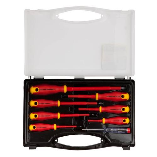 Набор отверточный STAYER 25145-H8_z01, 8 предметов набор отверток stayer 100 250в cr v stayer 25145 h6 z01 диэлектрические тестер 6 шт