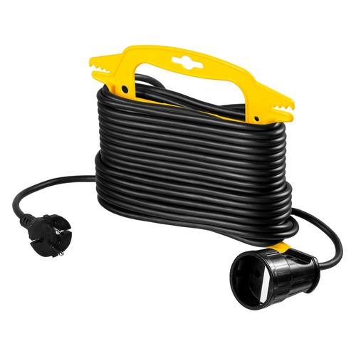 Удлинитель силовой Stayer 55014-15_z01 2x0.75кв.мм 1розет. 15м ПВС пласт.рамка черный