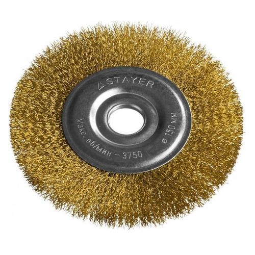 Щетка дисковая STAYER 35122-150, по металлу, 150мм, 22.2мм уровень stayer professional i prolevel 1мм м 3 ампулы 150см 3477 150