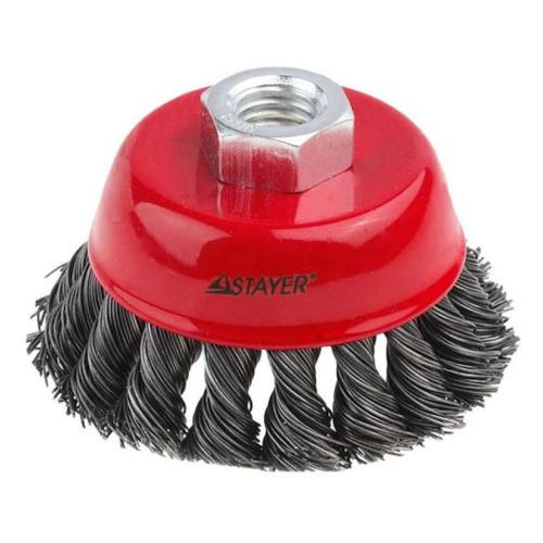 Щетка дисковая STAYER 35128-080_z01, по металлу, 80мм кордщетка stayer professional 35128 120