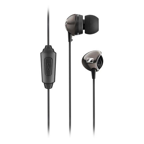 Наушники с микрофоном SENNHEISER CX 275s, 3.5 мм, вкладыши, черный [504538] гарнитура sennheiser pmx 686i sports вкладыши серый проводные