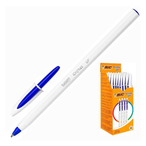 Упаковка ручек шариковых BIC Cristal, 1 стержень, 1.2мм, синий, коробка картонная [949879] 20 шт./кор.