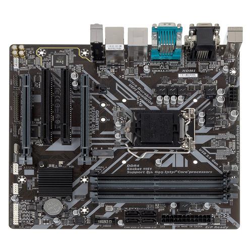 Материнская плата GIGABYTE H310M D3H, LGA 1151v2, Intel H310, mATX, Ret цена и фото