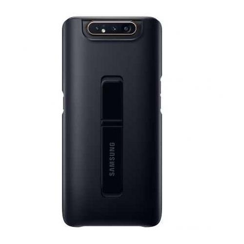 Чехол (клип-кейс) SAMSUNG Standing Cover, для Samsung Galaxy A80, черный [ef-pa805cbegru]  - купить со скидкой