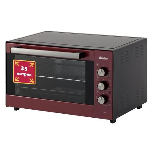 Мини-печь SIMFER M 3524, красный цена и фото