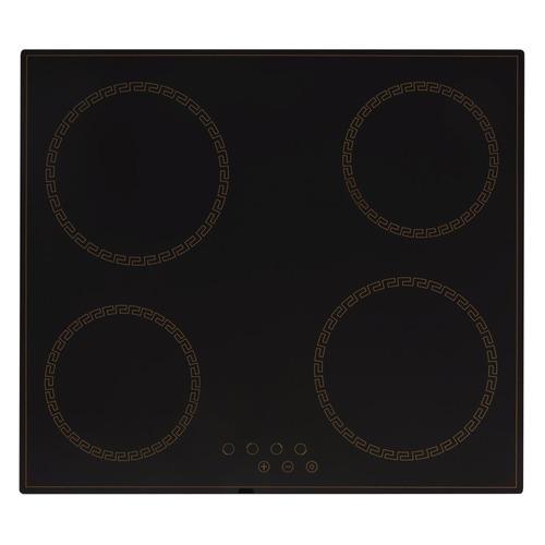 Варочная панель SIMFER H60D14 L011, Hi-Light, независимая, черный варочная панель simfer h45d13b011 электрическая независимая черный