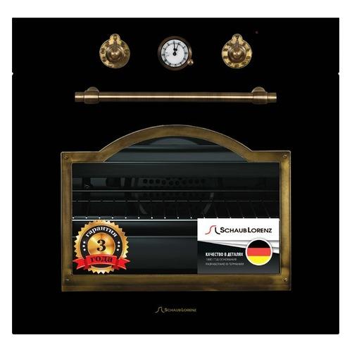 Духовой шкаф SCHAUB LORENZ SLB EA6860, черный цена