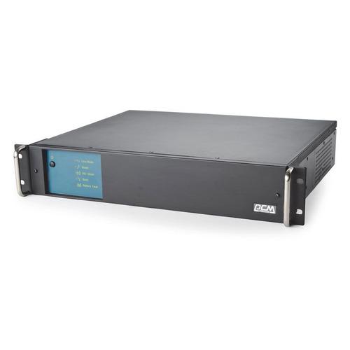 ИБП POWERCOM King Pro RM KIN-2200AP LCD, 2200ВA ибп powercom kin 3000ap rm 3u usb rs 232