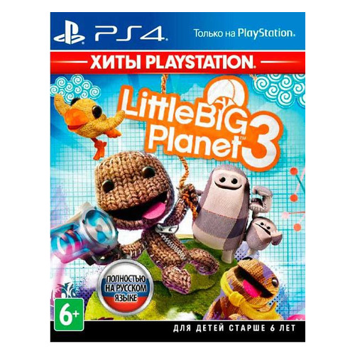 Игра PLAYSTATION LittleBigPlanet 3, русская версия