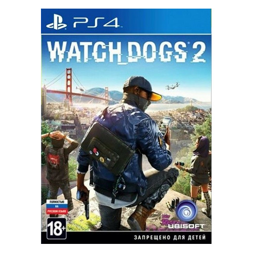 Игра PLAYSTATION Watch Dogs 2, русская версия