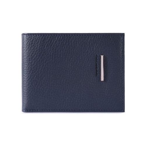 купить Кошелек мужской Piquadro Modus PU1241MO/BLU синий натур.кожа по цене 9900 рублей