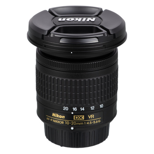 Фото - Объектив NIKON 10-20mm f/4.5-5.6 AF-P DX, Nikon F [jaa832da] объектив nikon 50mm f 1 8 af s nikon f [jaa015da]