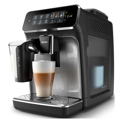 Кофемашина PHILIPS EP3246/70, черный/серебристый цена