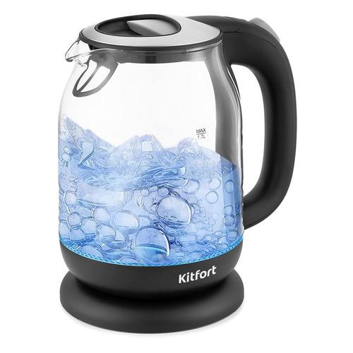 Чайник электрический KitFort КТ-654-5, 2200Вт, серый