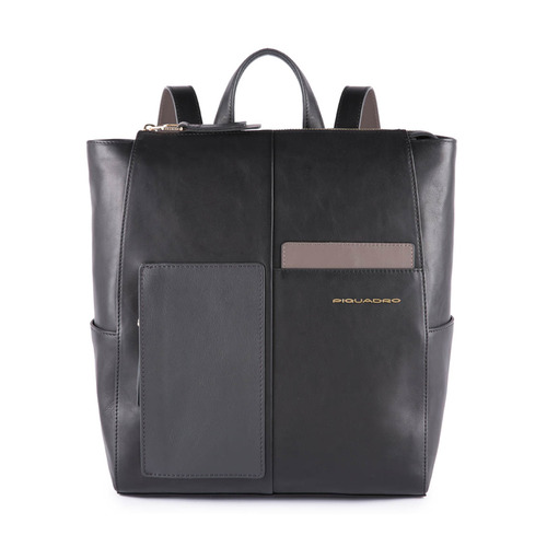Рюкзак женский Piquadro Echo CA4847W100/N черный натур.кожа рюкзаки piquadro ca2943os n