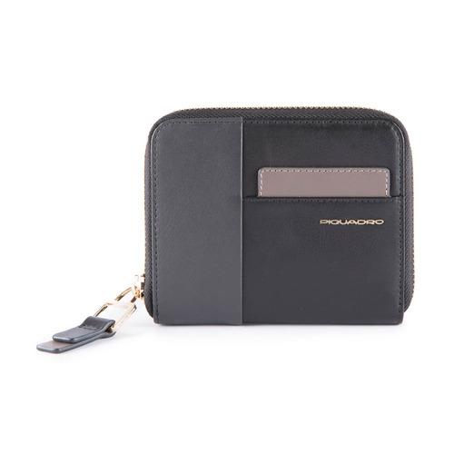 Кошелек женский Piquadro Echo PD4850W100R/N черный кошелек женский labbra цвет черный l053 1442