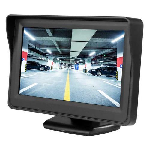 Фото - Автомобильный монитор Swat CDH-115BL 4.3 16:9 480x272 зеркало заднего вида с монитором digma dcm 434