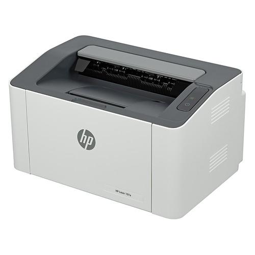 Фото - Принтер лазерный HP Laser 107a лазерный, цвет: белый [4zb77a] кеды мужские vans ua sk8 mid цвет белый va3wm3vp3 размер 9 5 43