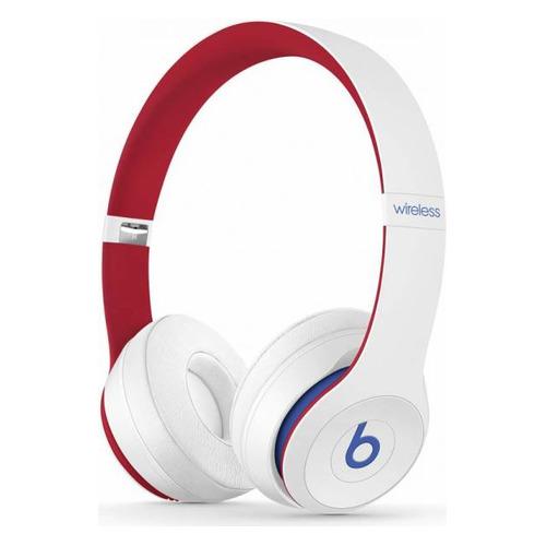 Наушники с микрофоном BEATS Solo3 Beats Club Collection, 3.5 мм/Bluetooth, накладные, белый [mv8v2ee/a] беспроводные наушники beats solo3 wireless decade collection черный красный