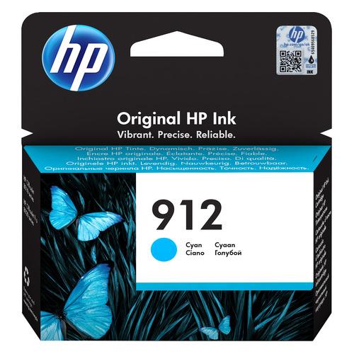 Картридж HP 912, голубой [3yl77ae]