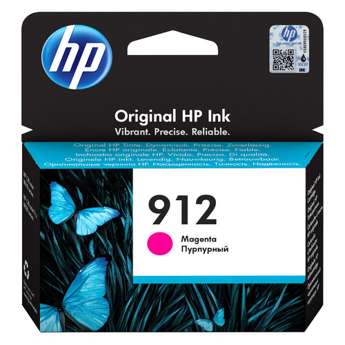 Картридж HP 912, пурпурный [3yl78ae]