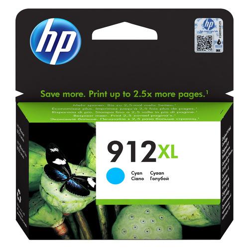 Картридж HP 912XL, голубой / 3YL81AE
