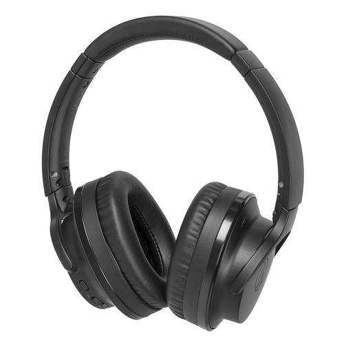 Наушники AUDIO-TECHNICA ATH-ANC900BT, 3.5 мм/Bluetooth, накладные, черный [80000374]