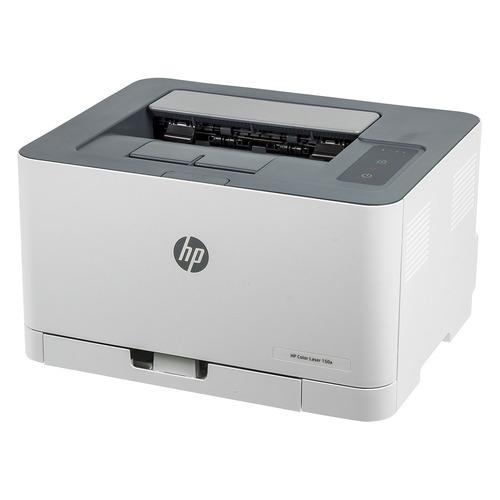 Принтер лазерный HP Color LaserJet Laser 150a лазерный, цвет: белый [4zb94a] цена