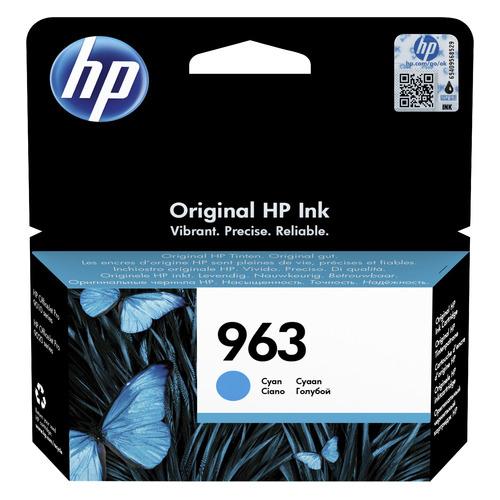 Картридж HP 963, голубой / 3JA23AE