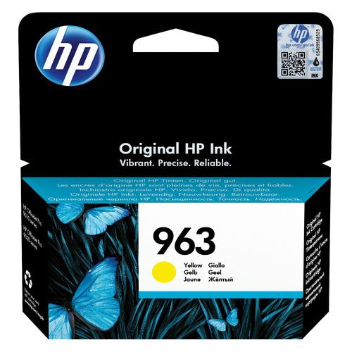 Картридж HP 963, желтый [3ja25ae]
