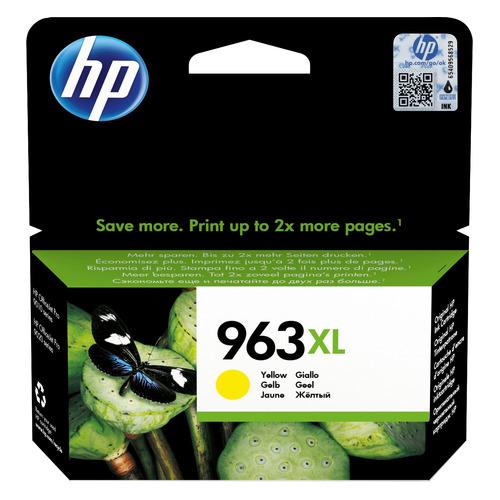 Картридж HP 963, желтый / 3JA29AE