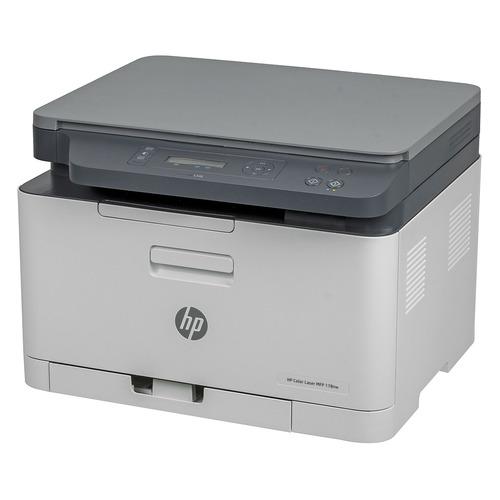 Фото - МФУ лазерный HP Color 178nw, A4, цветной, лазерный, белый [4zb96a] копилка котик цветной керамика 12х9 12 7365 13464 1