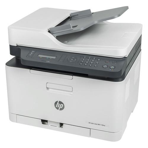 МФУ лазерный HP LaserJet 179fnw, A4, цветной, лазерный, белый [4zb97a]