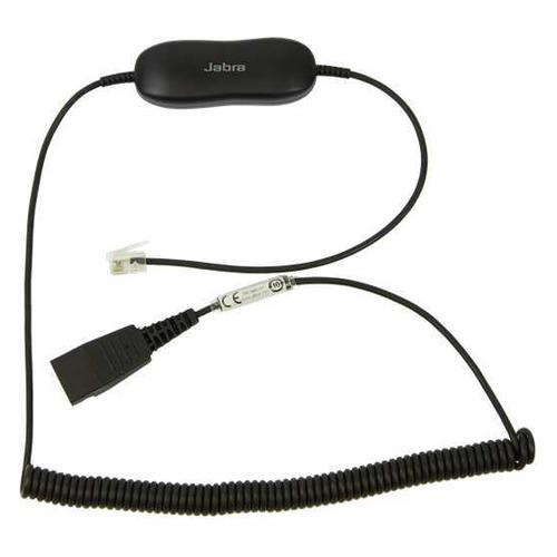 Кабель-переходник аудио JABRA GN1216 SmartCord CC Avaya, QD - RJ10 , 0.8м, черный [88001-04] все цены
