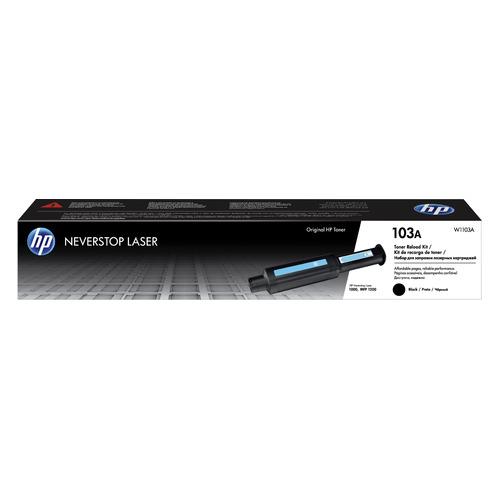 Фото - Заправочное устройство HP 103 W1103A черный (2500стр.) для HP Neverstop Laser 1000a/1000w/1200a/1200 блок фотобарабана hp 104 w1104a черный ч б 20000стр для hp neverstop laser 1000a 1000w 1200a 1200w