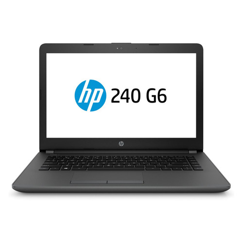 Ноутбук HP 240 G6, 14, Intel Core i3 7020U 2.3ГГц, 4Гб, 500Гб, Intel HD Graphics 620, DVD-RW, Free DOS 2.0, 4BC99EA, черный ноутбук hp 15 ra028ur 15 6 intel pentium n3710 1 6ггц 4гб 500гб intel hd graphics 405 dvd rw free dos 3fz04ea черный
