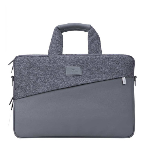 Сумка для ноутбука 15.6 RIVA 7930, серый, MacBook Pro, Ultrabook  - купить со скидкой